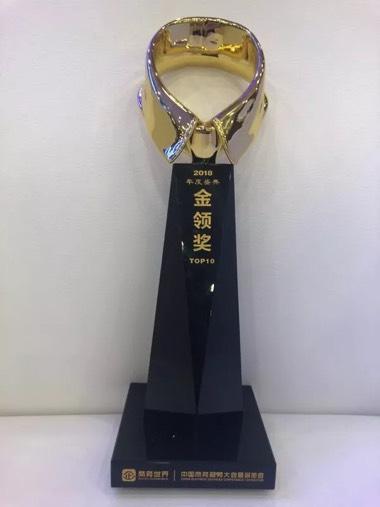 2018年度盛典金领奖